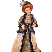 Wonderful Doll Patricia Fortin Signed and Dated Big Beautiful Victorian Lady FAB Clothes ...