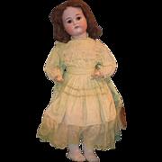"Antique Doll Simon Halbig Kammer Reinhardt Bisque Large Bisque Girl K*R 29"" Tall"