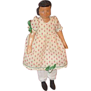 SOLD Vintage Doll Hitty Wood Carved Artist Judy Brown Signed