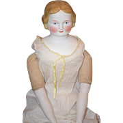 Antique Early Circa 1850 A W Fr Kister Doll Parian Gorgeous W/ Wonderful Face and ...