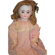 Antique Doll French Bisque FG Straight Wrist Pale Bisque Gorgeous Closed Mouth