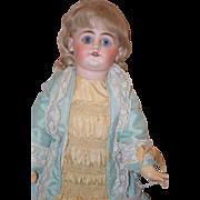 Antique Doll Bisque French Market DEP Straight Wrist Sonneberg Dressed FAB