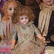 Antique Doll Bisque Head Composition Body Miniature Cabinet Size Cutie