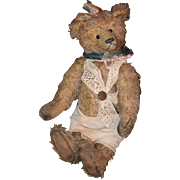 Vintage Teddy Bear Tonni Bears Holland Mohair Jointed Doll Friend