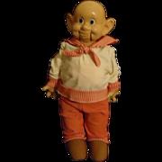 REDUCED Antique Ideal Dopey Composition Doll Ventriloquist Snow White Walt Disney