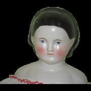 Antique Doll China Head Alice Kestner Gorgeous