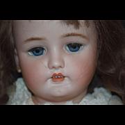 "Antique Doll Bisque Head Large C.M. BERGMANN Simon & Halbig 30"" Tall"