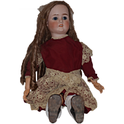 "Antique Doll Bisque Head K.H. WALKURE Kley & Hahn BIG 31 1/2"" Tall Girl ..."