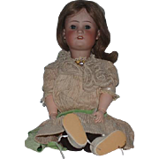Antique Doll Bisque Simon & Halbig GB Original Stamped Body