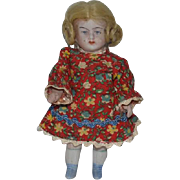 Antique Doll Miniature All Bisque Jointed Doll Dollhouse