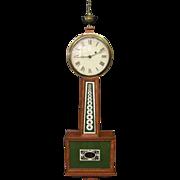 SOLD Vintage Banjo Clock
