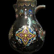 Vintage Chinese Cloisonné Tea Pot