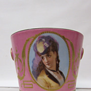 Paris Porcelain Cachet Pot
