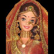 Elaborate Wedding Fantasy Barbie Doll Foreign Issue India MIB!