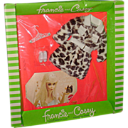 MOD Pony Coat Francie Doll Outfit Boxed! Mattel 1970