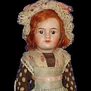 Tagged Eden Bebe SFBJ 60 Paris Bisque Head Doll Original France 1918-on