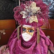Bisque Artist doll - Carnivale Veneziano