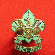SOLD Boy Scout Assistant Scoutmasters Hat Rank Badge Insignia ca. 1920's