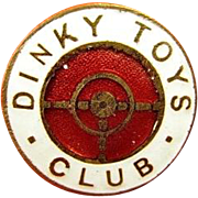 Dinky Toys Club Members Pin circa 1960's original