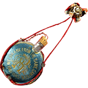 G.A.R. 21st National Encampment St. Louis, Missouri 1887 Souvenir Canteen Pendant Badge