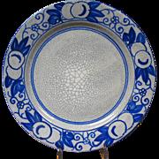 Vintage Dedham Horse Chestnut Plate