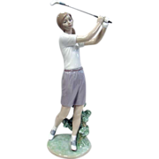 "Lladro ""A Perfect Drive"" No Box"