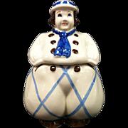 """Happy Jack """"Dutch Boy"""" Cookie Jar by Shawnee Pottery"""