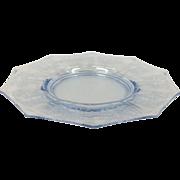 "Elegant Glass Cleo 8"" Plate By Cambridge Glass"