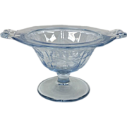 Elegant Glass Cleo Footed Mayo By Cambridge Glass