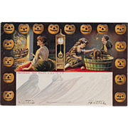 Vintage Halloween Postcard Tower M & N Co. NY - Undivided 1906