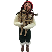 Christmas - Byers Choice The Carolers Adult With Snowshoes