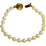 SALE GIVENCHY Designer Faux Pearl Bracelet