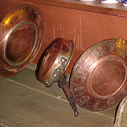 Group of Antique Moroccan Copper Ware Hand Made & Decorated