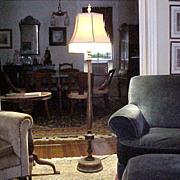 Floor Lamp Original Polychrome Finish 1920's