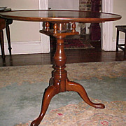 REDUCED Tilt-top Tea Table Mahogany 18th Century English