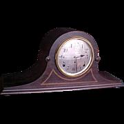 Seth Thomas Tambour Mantel Clock 1912 gong chimes