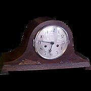 """SOLD Art Deco Mantel Clock """"Humpback"""" 1930"""