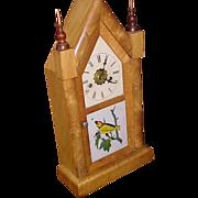 Steeple Mantel Clock with alarm New Haven C. 1900