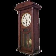 SOLD JUNGHANS  German Regulator Wall Clock C.1910