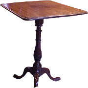 Queen Anne (period) Mahogany Candlestand C.1740