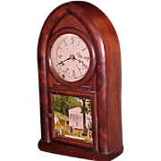 Connecticut Beehive Shelf Clock New Haven C. 1855