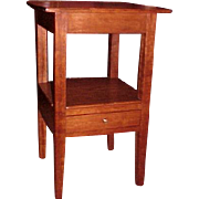 Appalachian Hepplewhite Work Table Night Stand C.1800