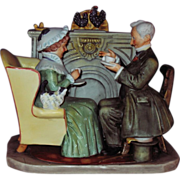 Norman Rockwell Four Seasons Figurine
