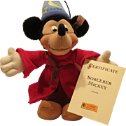 SOLD Steiff Mickey Mouse Sorcerer