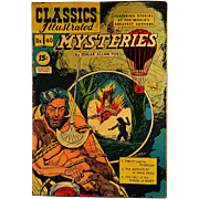 Classics Illustrated- Mysteries-#40 1947