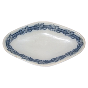 SALE Villeroy and Boch lozenge serving bowl 1890-1910