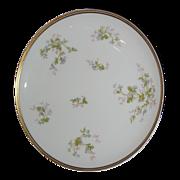 SALE Haviland Limoges cake plate with violets.