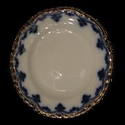 SALE W.H. Grindley & Co. Flow Blue cake plate