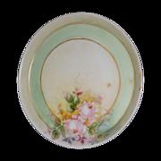 SALE Miniature, plate Handpainted