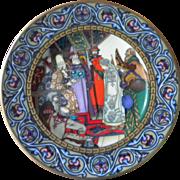 Heinrich Villeroy & Boch The Snow Maiden No 22 - 18-1.2 Ltd Ed plate